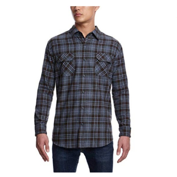 Weatherproof Other - Weatherproof Men's Vintage Flannel Long Sleeve But